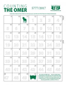 Counting of the Omer