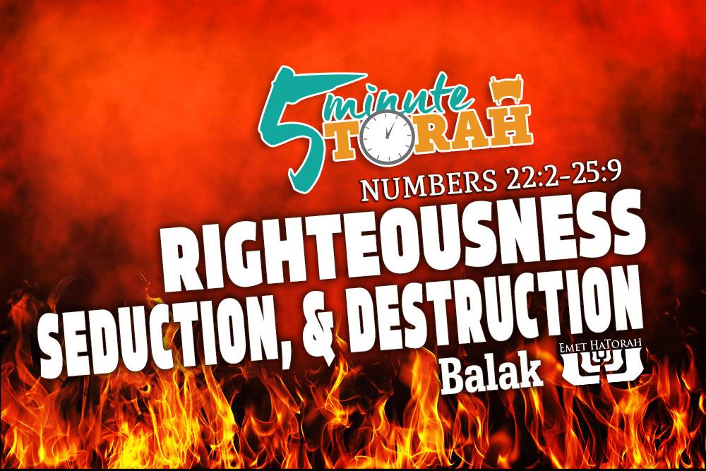 Parashat Balak - Numbers 22:2-25:9   Emet HaTorah